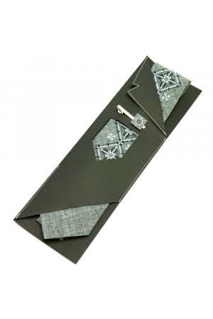 "Вишита краватка та зажим ""Вітан"""