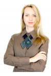 "Крос-краватка з вишивкою ""Росава"""