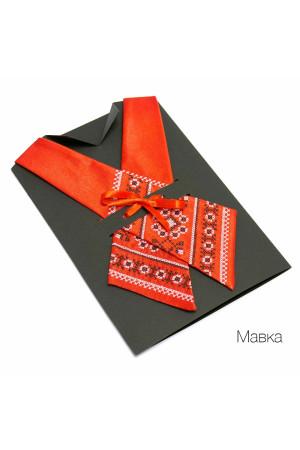 """Крос-краватка з вишивкою """"Мавка"""""""