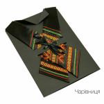 """Кросс-галстук с вышивкой """"Волшебница"""""""