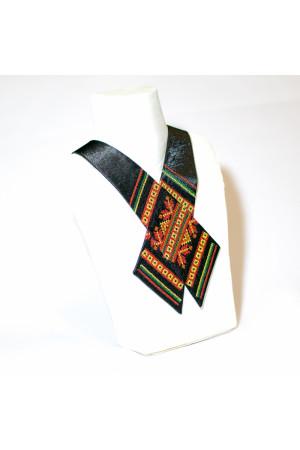 """Крос-краватка з вишивкою """"Чарівниця"""""""