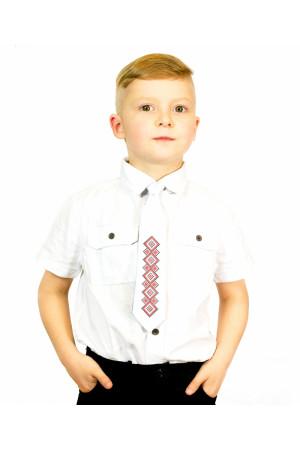 """Дитячий галстук """"Вір"""" з вишивкою"""
