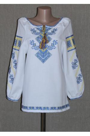 "Вишиванка ""Берегиня"" жовто-блакитного кольору"