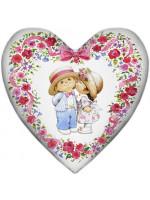 """Подушка-сердце """"Влюбленные"""""""