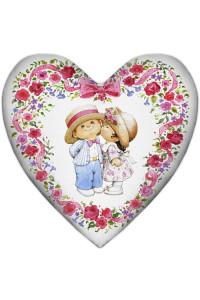 "Подушка-серце ""Закохані"""