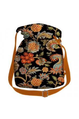 Сумка-торба «Сказочные цветы»