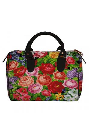 Сумка-бочонок «Цветочный бум»