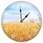Настенные часы круглые «Нива»