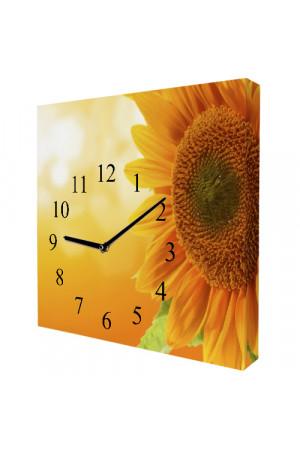 """Настінний годинник """"Соняхи"""""""