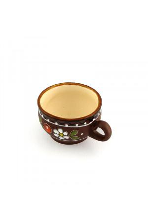 """Керамічна чашечка для кави """"Вишенька"""", 120мл"""