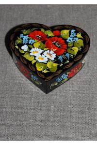 Шкатулка у формі серця (маленька)