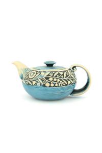 """Голубой чайник из серии """"Веночек"""""""