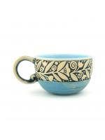 Голубая чашка «Веночек» (150 мл)