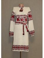 """Вязаное платье """"Розы"""""""