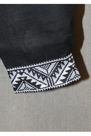 """Вишиванка """"Козак"""" з вишивкою білого кольору"""
