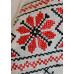 """Вышиванка """"Росава"""" с красным орнаментом"""