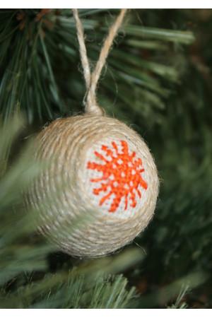 """Ялинкова кулька """"Сніжинка"""""""