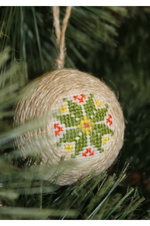 """Елочный шар """"Рождественская звезда"""""""