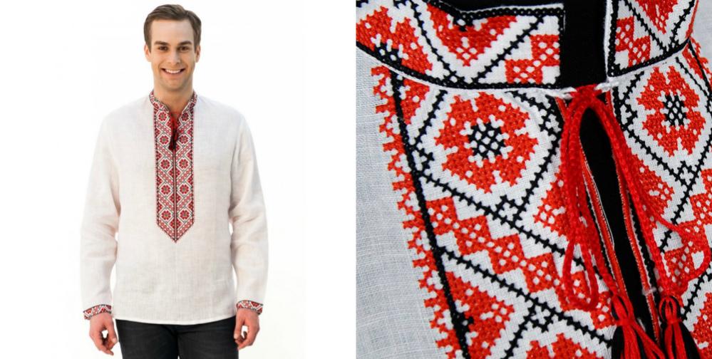 Чоловіча вишиванка «Волинська» – неймовірно класична модель. Саме про таку  сорочку кажуть «маст хев» у чоловічій шафі. Її виконано з білого льону та  ... b72e89c807c30