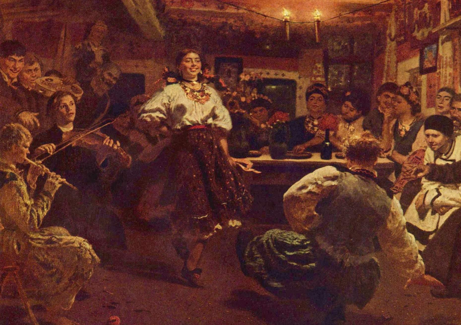 Традиційні розваги наших предків  вечорниці b0407ce26ba8f