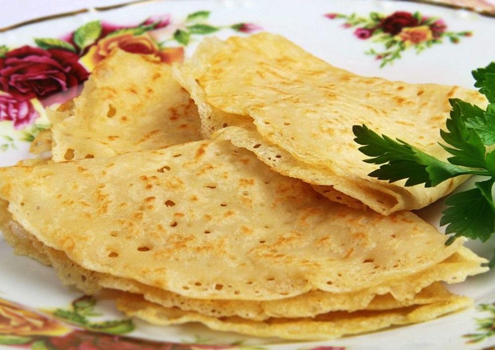 Вкусные постные блины рецепт с фото