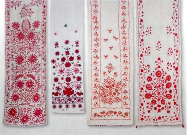 Різноманітні сюжети вишивок українських рушників відрізняються своїм  характером і композицією. Фахівці виділяють кілька основних елементів dea3508b81cc1