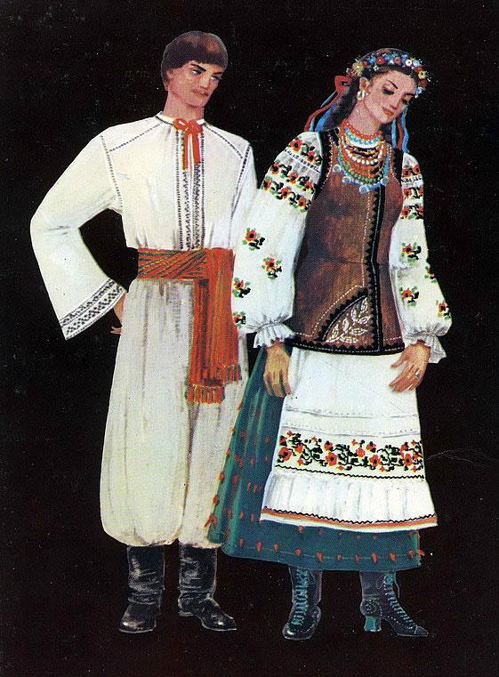 Регіональна приналежність українського костюма передається за допомогою  символів 66d799b72a757
