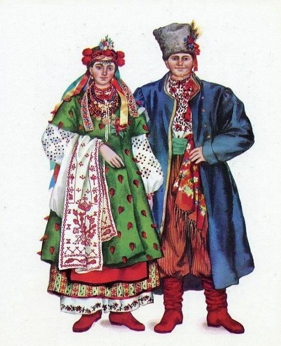 Однак окремі риси притаманні костюмам елітних класів просочувалися і в  національний одяг 8fe9b51e033ac