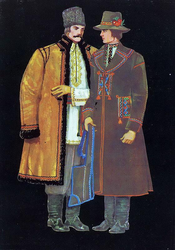 Чоловіча тунікоподібна вишиванка мала широкий комір-стійку або відкладний  комір ded1e87ecb115