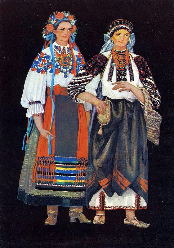 726cbf302e5738 Регіональні відмінності в загальному національному стилі українського одягу