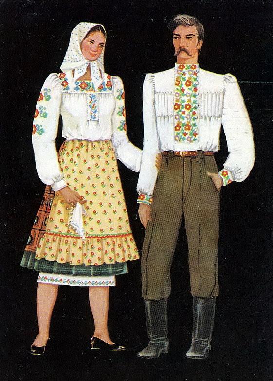 Регіональні відмінності в загальному національному стилі українського одягу b8278a870dc10