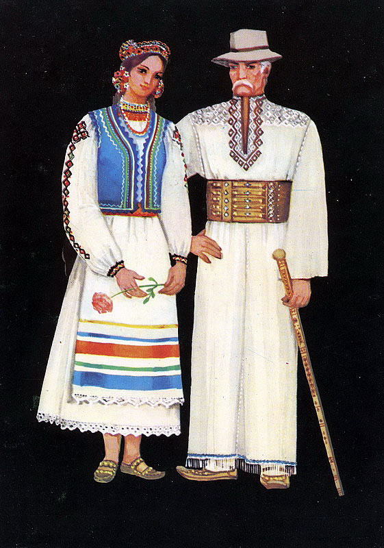 1f738cdcb9a038 Основу жіночого костюма становила довга вишиванка - «Довгань». Характерною  особливістю Довгань є «пазуха» - прикраса у вигляді зітканого квадрата з  червоних ...