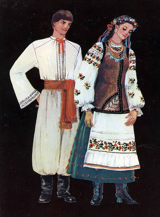 Регіональні відмінності в загальному національному стилі українського одягу e9ecea8610611