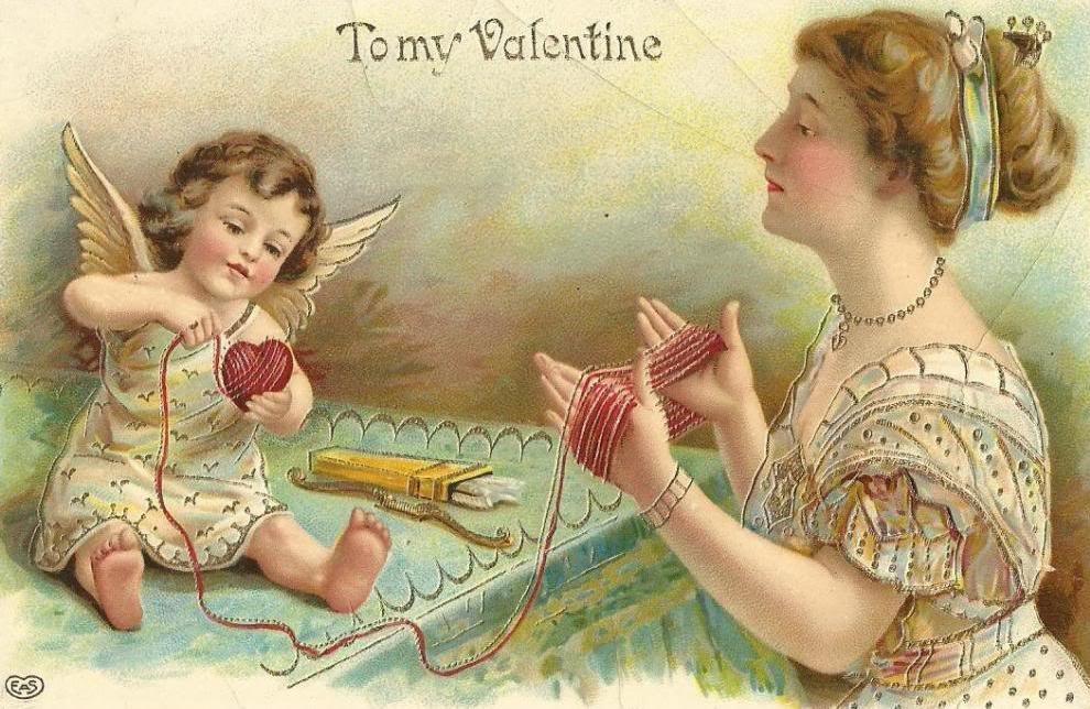 День открытки старые валентина