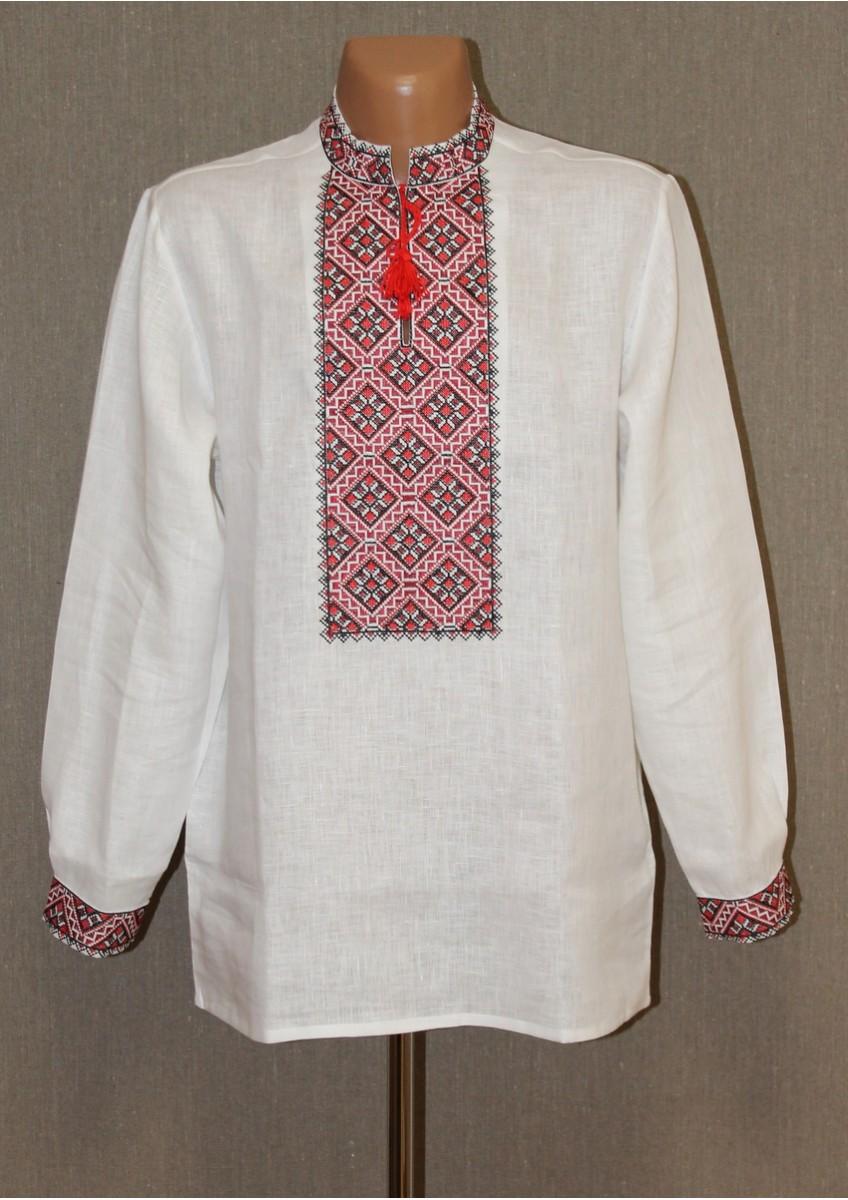 Для вишиванок Дніпропетровщини характерна червоно-чорна кольорова гама. На  жіночих сорочках часто зустрічається більш широка гама кольорів 18f3adb8932e0