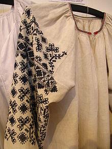 Маніжки сорочок прикрашалися візерунком a6721a83446d8