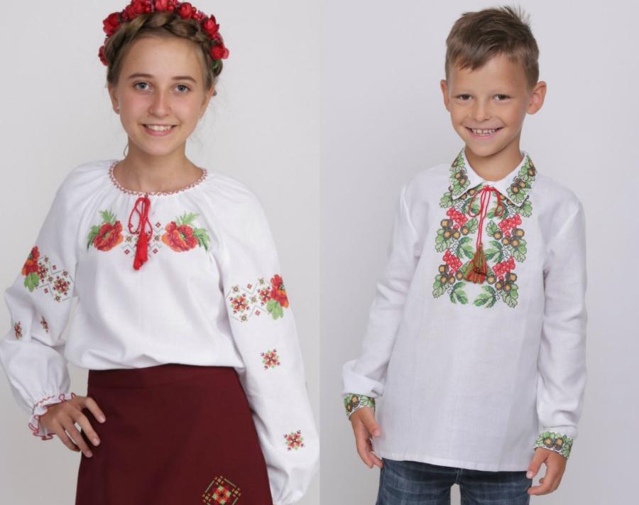 36be62b5b40965 Ошатні яскраві сорочки, сукні, спідниці з національною українською вишивкою  будуть доречні на малюку під час особливих подій: державних і релігійних  свят, ...
