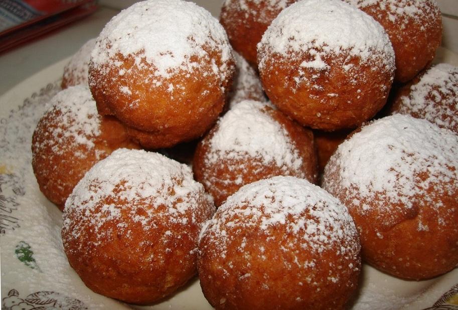 Рецепт пончики со сгущенкой без дрожжей